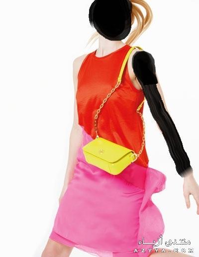 فستان يجنن بألوان الربيعشوزات بألوان الربيع جمالها بديعغرف نوم أطفال