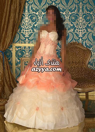 للاطفال - اروع فساتين الحفلات بالصورفساتين سهرة بالوان هادئة ....