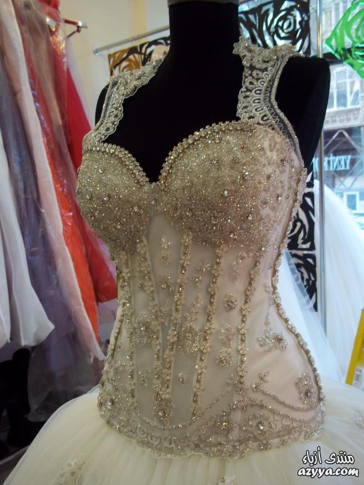 فساتين الزفافمجموعة منوعة وجميلة من فساتين الزفافاشراقة واطلالة مميزة لفساتين
