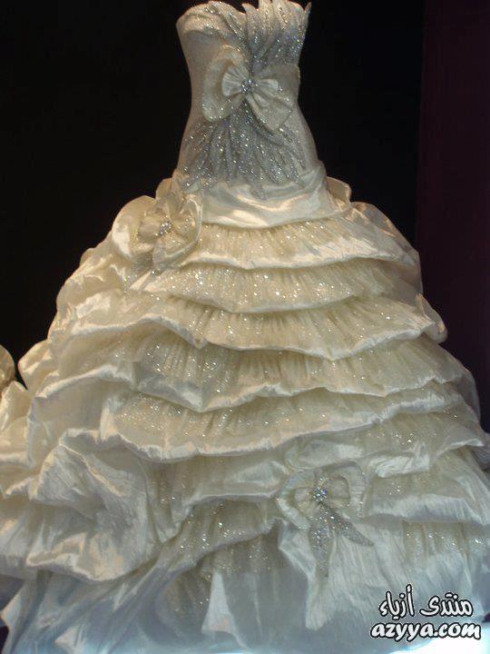 زفاف 2014 تجننفساتين زفاف شياكةفساتين زفاف لأجمل عروسصايحة جديدة من