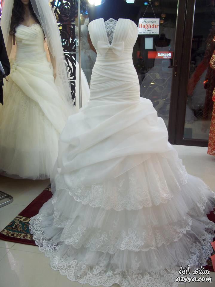 مواضيع ذات صلةفساتين الزفاف 2012_2013 للمصممه عائشة المهيريليلة زفافك