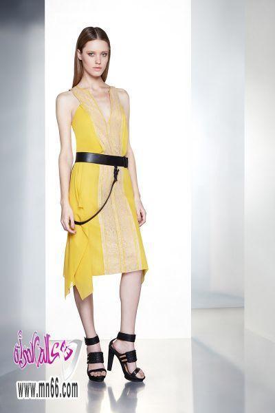في موديلات فساتين السهرة 2013فساتين سهرة ربيع 2013 لـ