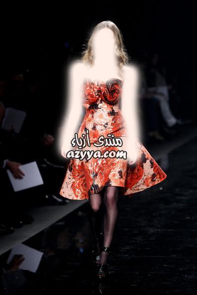 , زهير مراد 2014روعة اللون الاسود الانيق من المصمم زهير