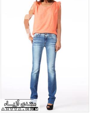 الالوان الجميلهبناطيل جينز شوفوبناطيل الجينز موديلات جديدةبناطيل جنز 2012 بناطيل