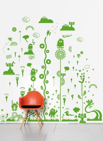 لشتاء عام 2013غرف نوم اطفالافكار جديدة لتزيين جدران غرف الاطفالستاير