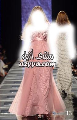 باريس للهوت كوتور 2014الفيونكة في موديلات فساتين السهرة 2013فساتين سهرة