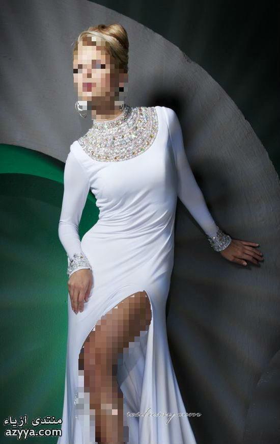 أسبوع باريس للهوت كوتور 2014فساتين سهرة بخامة