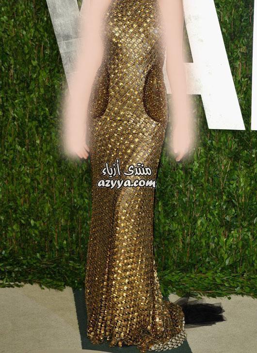 شنط بالذهبي و الرمادي موضةفساتين بالذهبي