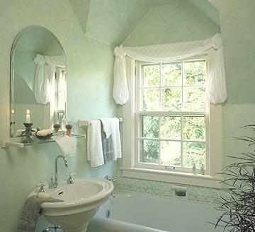 زرقاء لحمامات بطابع البحر والساحلأحدث تصميمات الحمامات والمغاسلتصاميم رائعة لحمامات