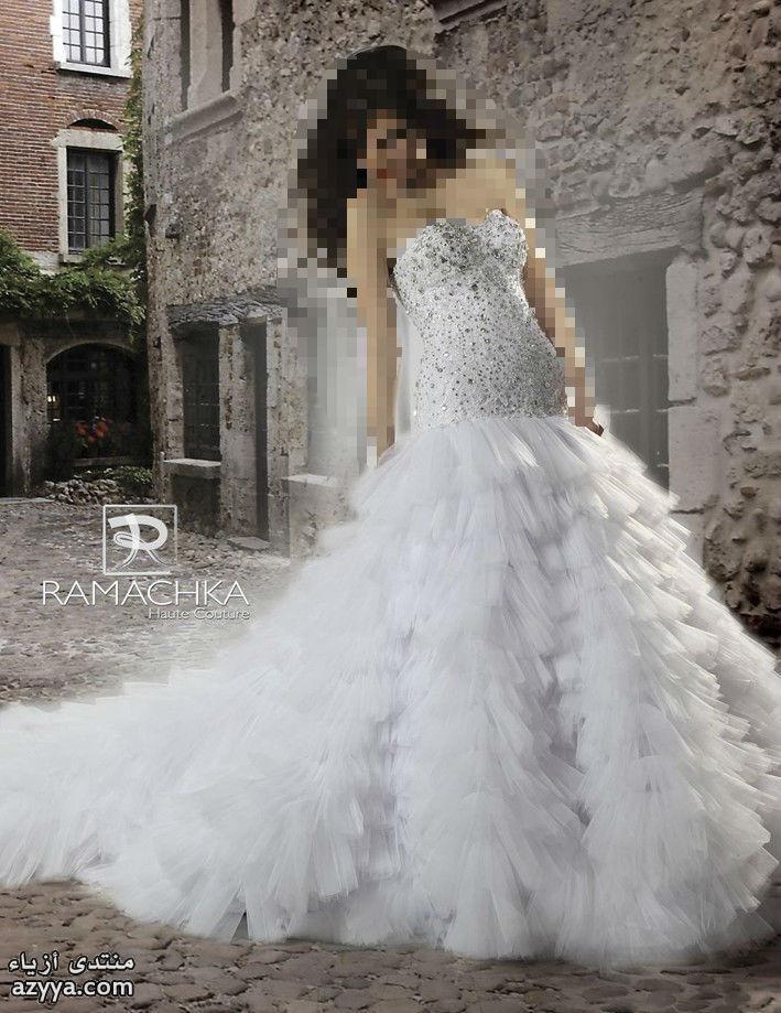 2012فساتين الزفاف لـ (ريم اكرا) لشتاء 2013ليلة زفافك مع فساتين