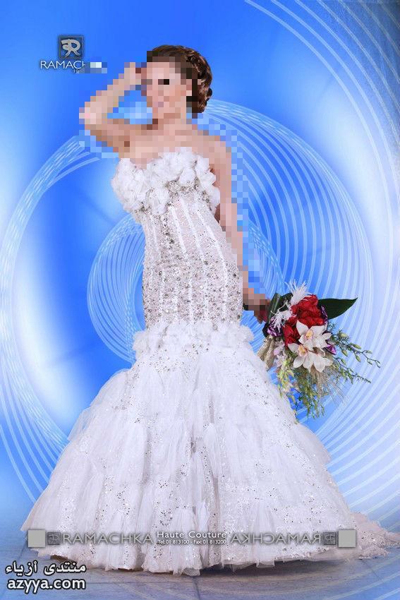 ذوقفساتين زفاف الخريف لـ Monique Lhuilier للعروس واختها.فساتين زفاف تجنن