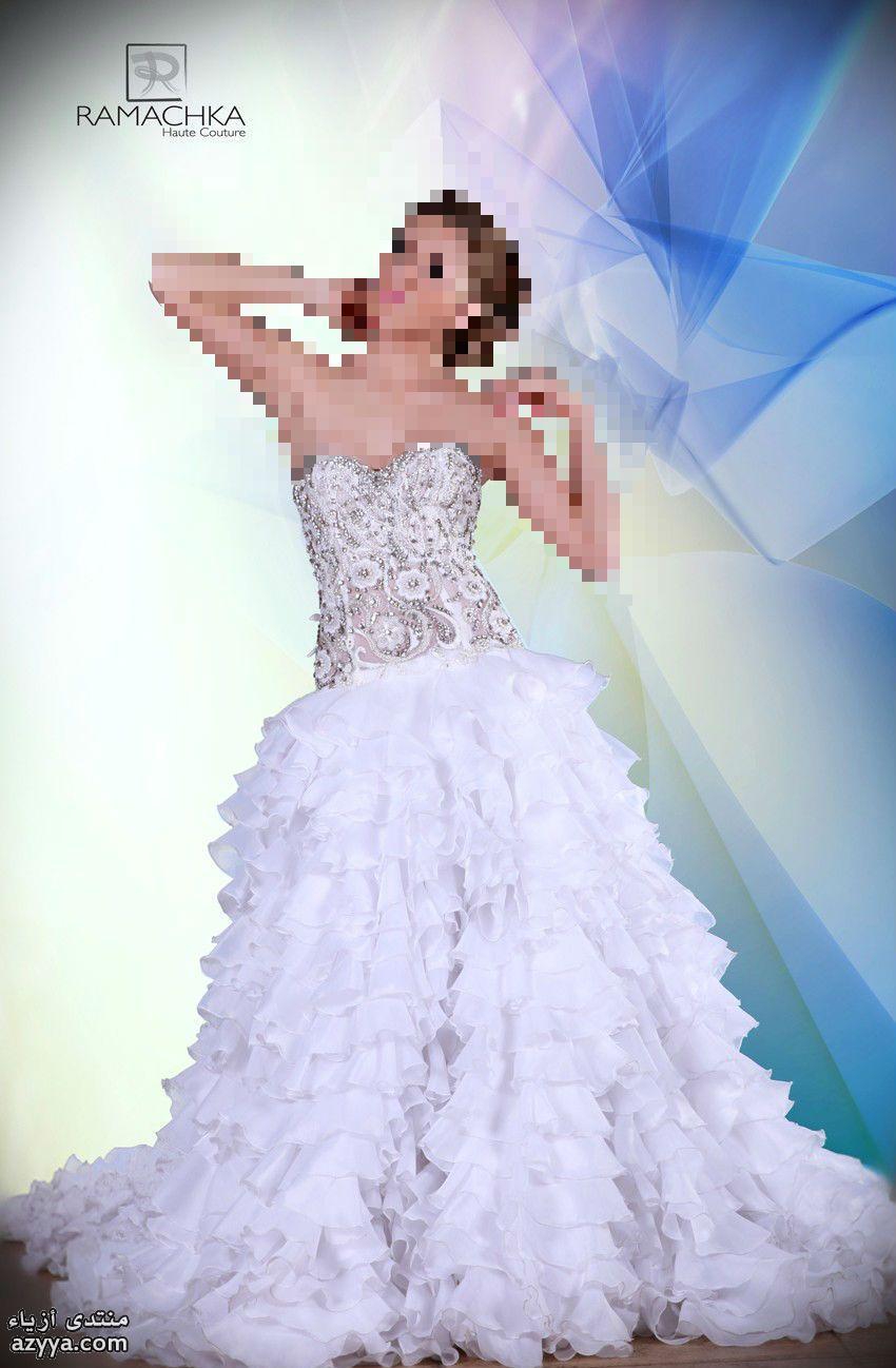 واعطوني رأيكم فساتين زفاف من بيت ازياء راماشكا2