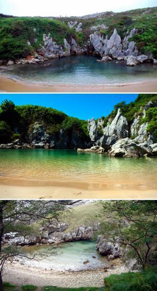 يعد شاطئ هويلغا من أغرب شواطئ العالم التي يمكن أن