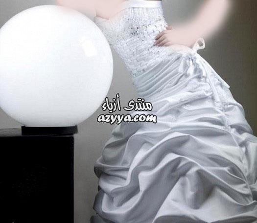 لموسم ربيع وصيف 2012فساتين الزفاف 2012_2013 للمصممه عائشة المهيريفساتين الزفاف
