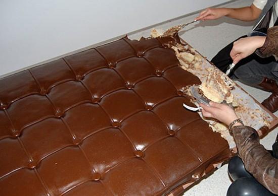 الشكولاطةمجموعة جديدة من مجوهرات دلفينا ديليتريزماسك السكر والزبد والشوكولاتهكروسون الشوكولاته