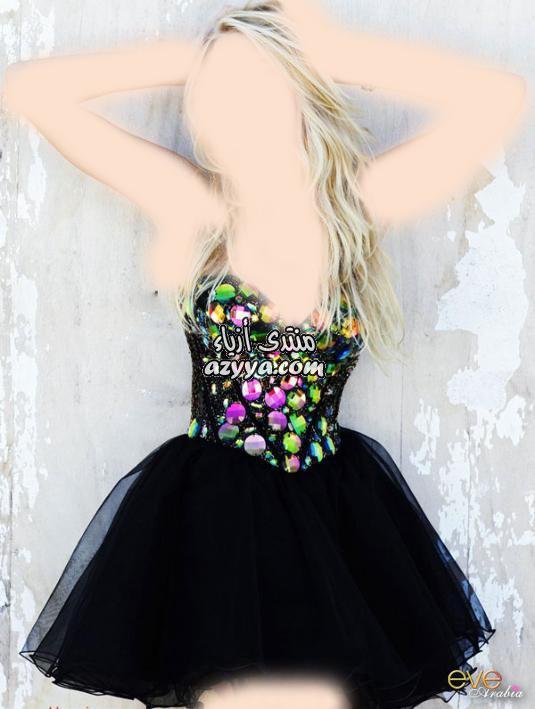 أنثوية جذابة بفساتين الصيف القصيرةفساتين الزفاف 2012_2013 للمصممه عائشة المهيرياروع