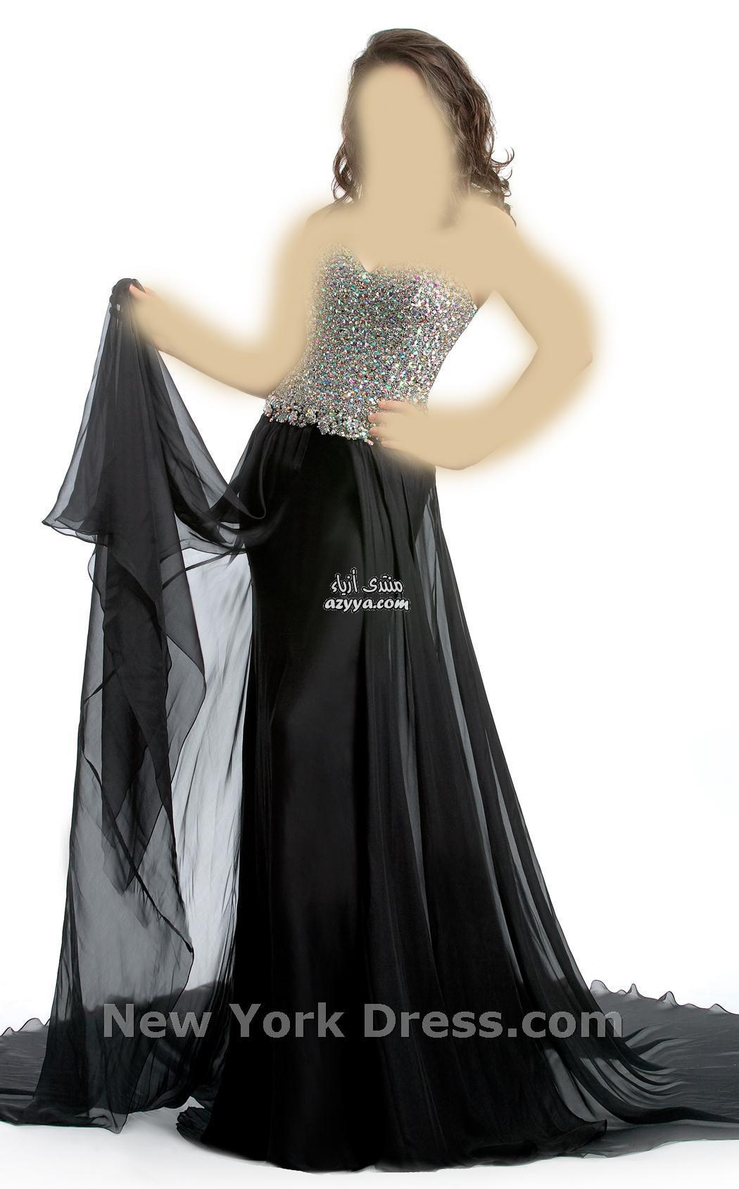 رآقية للمصمم نيكولا جبران 2013فساتين سهرة بخامة