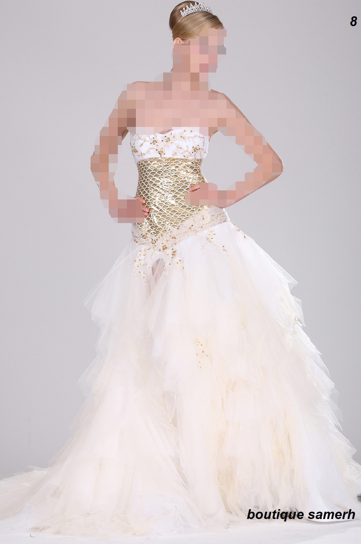 الفساتين الناعمهفساتين السهرات وفساتين الزفاف لـ شادي زين2013-2014أفضل فساتين نجمات