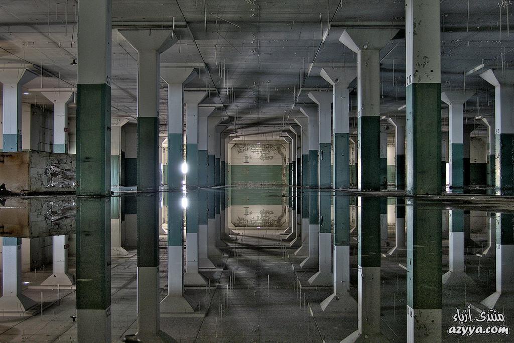 مبنى مهجور في فاييخو، كاليفورنيا المعروفة باسم حوض السفن