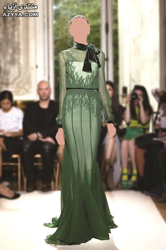 أنغام الغجر نيكولا جبران يطلق مجموعة خريف وشتاء 2013- 2014فساتين
