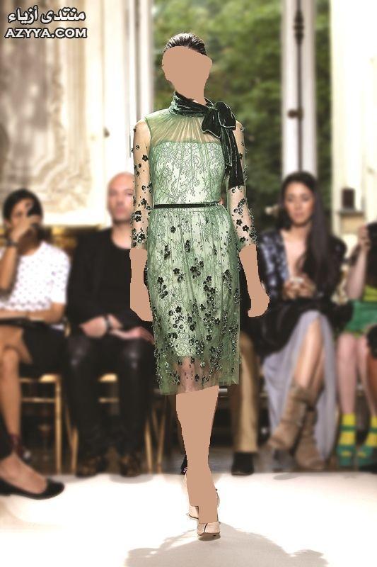 ,جديد 2014فساتين سهرة انيقة باللون الاسود ,جديد المصمم نيكولا جبرانمن