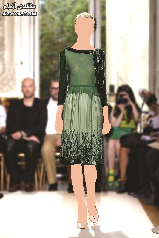نيكولا جبران صيف الفساتين القصيرة ,تصميمات 2014فساتين قصيرة للمصمم نيكولا