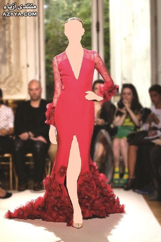 رائعة تنطق بالأنوثة والجمالفساتين الزفاف 2012_2013 للمصممه عائشة المهيريفساتين سهرة