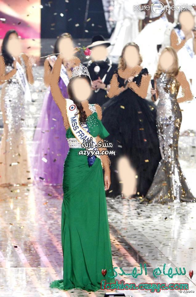 فستان ملكة جمال فرنسة 2010 ا