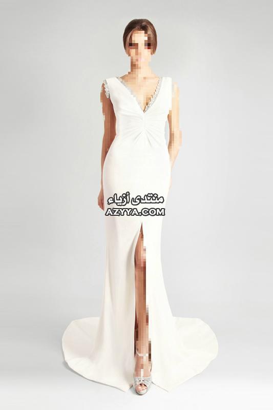 ونعومة فائقةفساتين الزفاف جورج حبيقة 2014 إطلالة العروس الرومانسية.أحدث فساتين