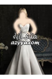 - اروع فساتين الحفلات بالصورللبيع فستان زفاف من بوتيك (