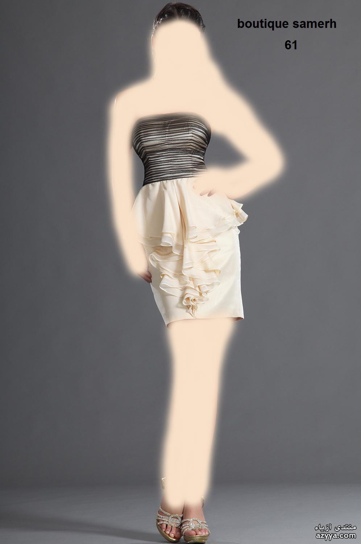 ربيع وصيف 2012فساتين رقيقة للسهرات المسائيةفساتين قصيرة وناعمة لسهرات بسيطةفساتين