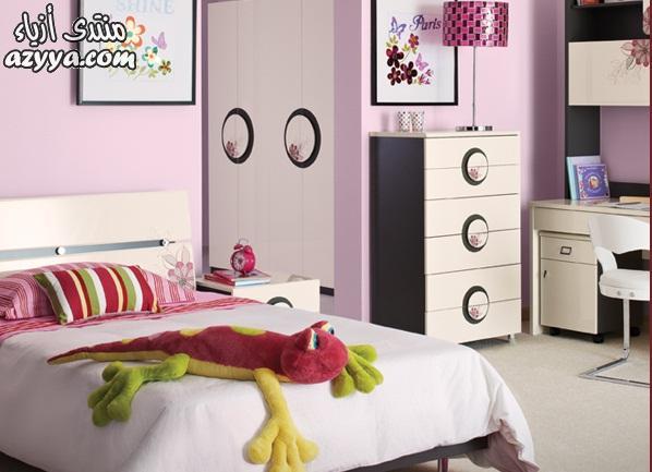 ديكورات غرف النوم للبناتغرف نوم الأطفال 2014 بدرجات اللون الأزرقاحدث