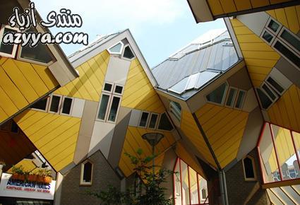 البيوت المكعبة، هولندا بناء الرقص، جمهورية التشيك هانج نغا