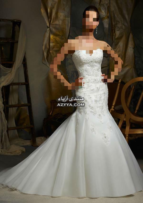 عرسك•♣ كوني ملاك مع اللون الأبيض •♣فساتين روعة لحفلات 2015كوني