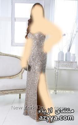 انيقة باللون الاسود ,جديد المصمم نيكولا جبرانفساتين سهرة باللون البنفسي