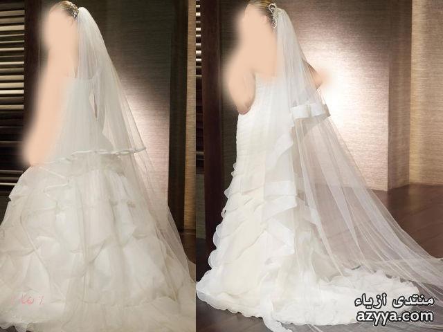 قبائلي للعروس عصريفستان ابيض للعروس =حصري=فساتين انيقة واحذية حلوة للعروس