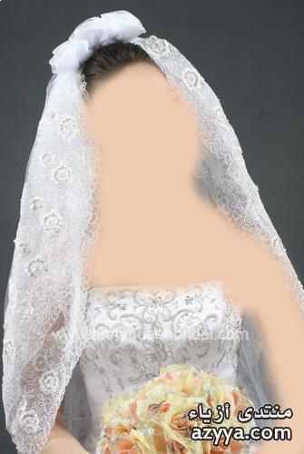 المجحبة روعةلفات طرحة للعروسة روعة 2013Leila hafzi فسآتين للعروس 2013فستان