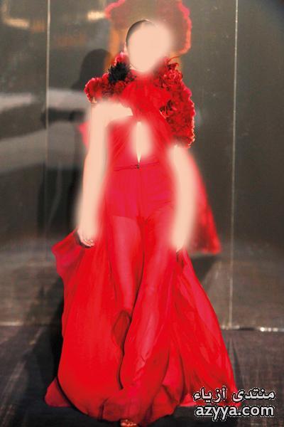 فساتين قصيرةلـ عآشقات الفساتين الناعمهه *.*فساتين سهره حمراء جديد 2013