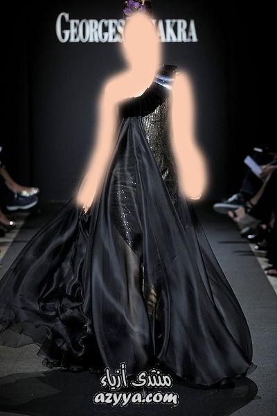 العروس الرومانسية.فساتين قصيرة تجسد الأنوثة من جورج حبيقةتصميم فساتين سهرة