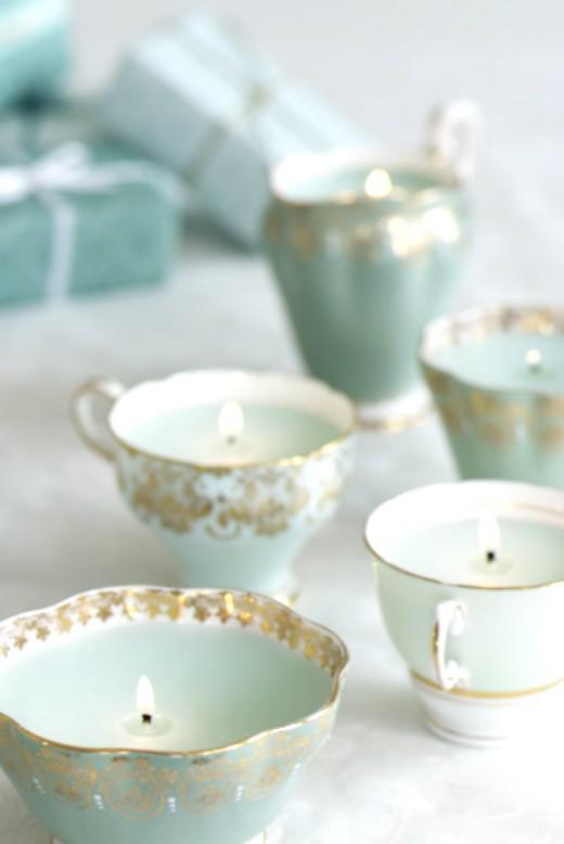 لا يخلو منزل من فناجين الشاي ذات الشكل المميز التي