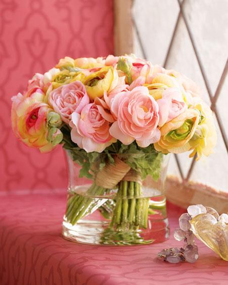لمحبي الورد وتنسيقهـ موضوع رائع حقا عن كيفيه تنسيق الزهور