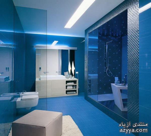 الازرق =احذيه كعب باللون الازرققوانين قسم ديكورات وتصاميم حمامات ومغاسل