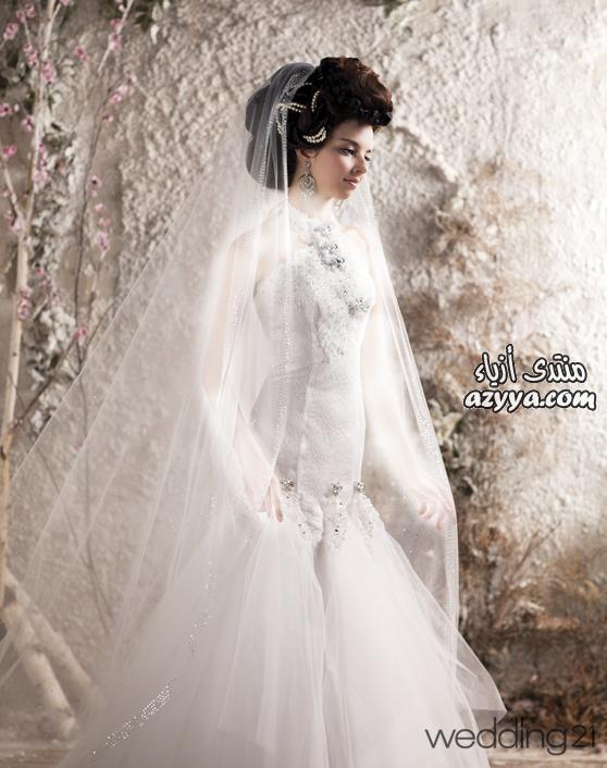 من augustajoneشsنوري عرسك ..... باجمل فستان زفاف كوني ملكة فاتنة