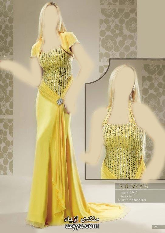 2012فساتين سهره كتير رقيقه 3 2012فساتين 2012 من اسبوع الازياءبيت