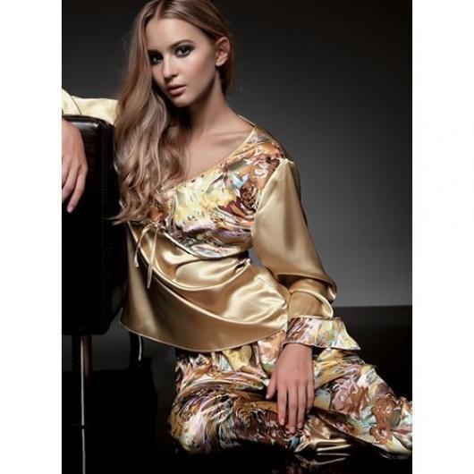 الالوان 2014اجمل بيجامات لربيع 2014ملابس تركي 2015 - بيجامات تركي