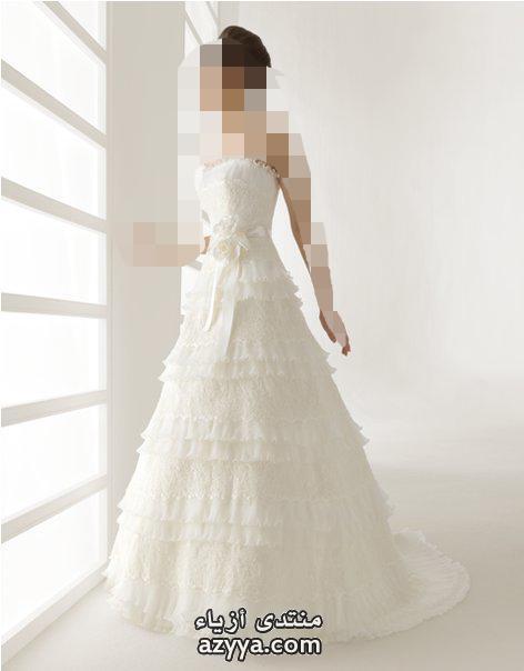 جديد 2013 ارق فساتين زفاف صور فساتين زفاف كيوت 2013