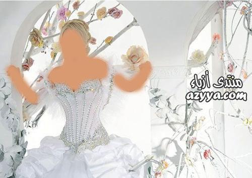 غديرافغاني في عرضها بدبيفساتين زفاف راقية وستايلفساتين زفاف جمالها من