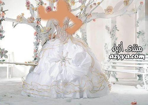 ولا أروع .. تجعلك أميرة ليلة زفافكفساتين زفاف للمصممة العالمية