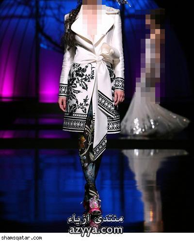 آند غاباناالأحمر والأسود يميز تشكيله أزياء مونيك ولييه 2012-2013تصميم الأزياءأحذية