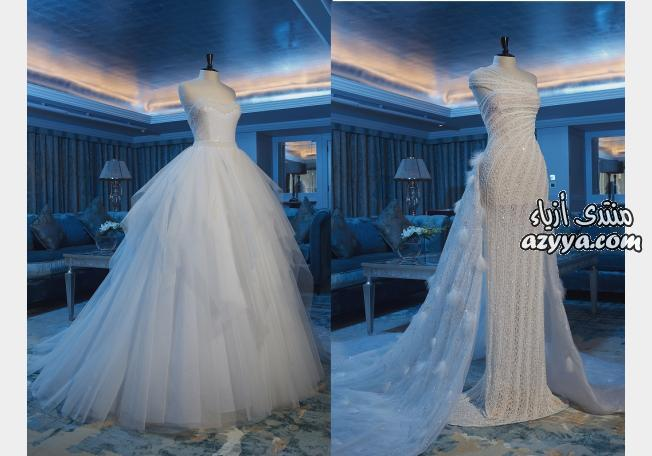 لـ ريم اكرا- شتاء 2013مجموعة فساتين زفاف إيلي صعب Pronovias